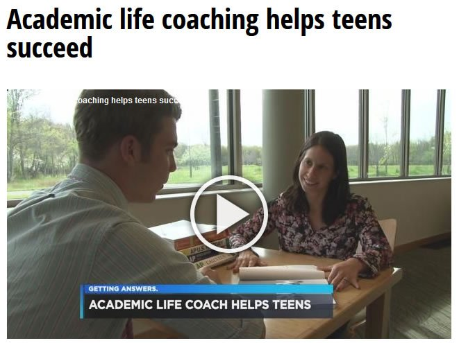 Channel 19 Video Interview of Natalie Borrell Academic Life Coach